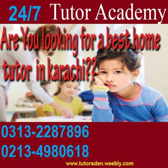 home tutor in karachi, math tuition